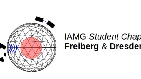 Logo des IAMG student chapters Freiberg & Dresden