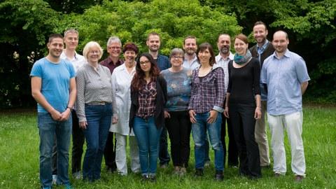 Gruppenfoto von Angehörigen des Instituts