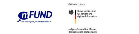 mFUND & BMVI Logo