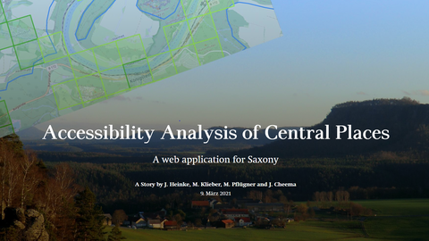 Accessibility Analysis of Central Places