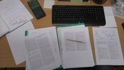 Schreibtisch Dissertation