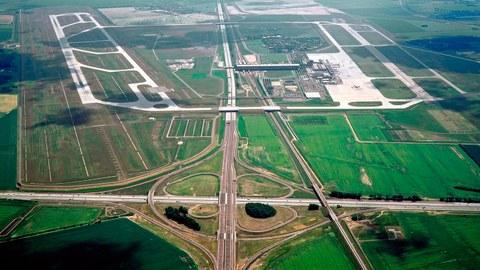 Flughafen Trassierung
