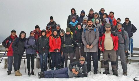 Alpine Field School - Gruppe 2016