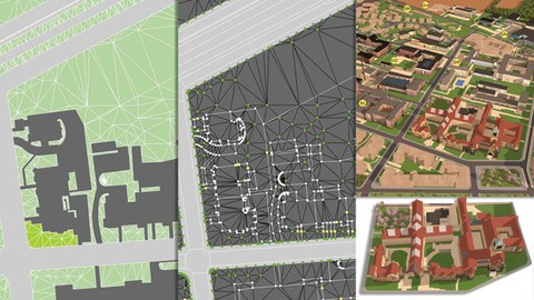 3D Modell Campus