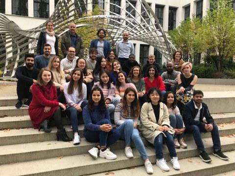 New students and coordinators of all partner universities