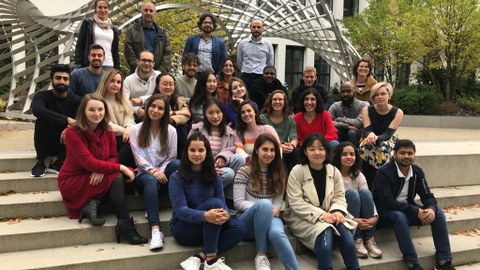 New students and coordinators of all partner universities