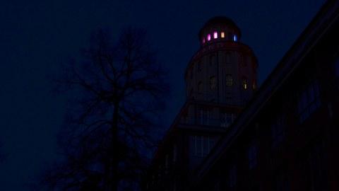 Ernemannturm bei Nacht