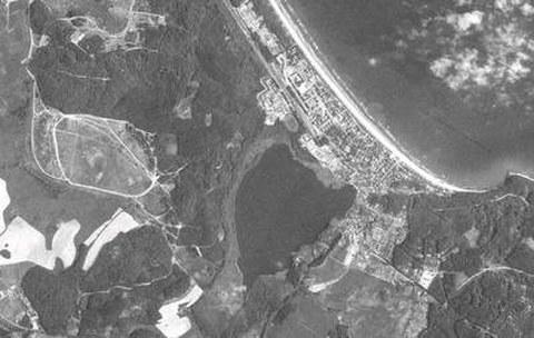 Abb. 9-16: COSMOS-Aufnahme von Ostseebad Binz