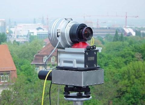 Panoramakamera auf dem Beyerbau