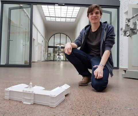 3D-Druck vom Gymnasium Dresden-Plauen und Christopher Scholz