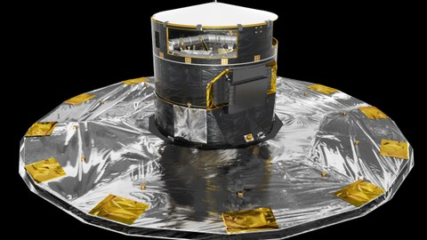 Artist's impression of the Gaia spacecraft