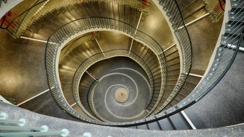 Hülsse-Bau Treppe