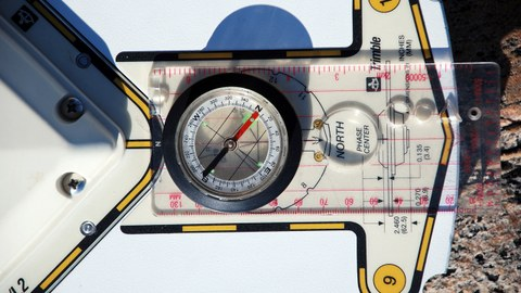 GPS Antenne mit Kompass