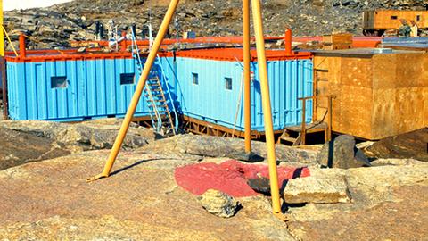 GDR Antarctic Base Georg-Forster