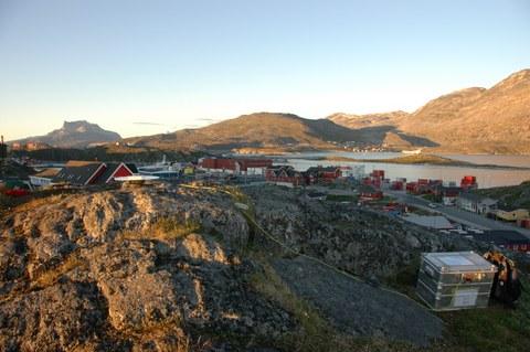 Blick auf Nuuk