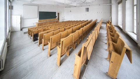 Leerer Vorlesungssaal