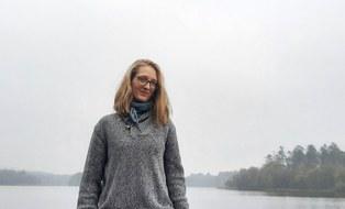 Luise Richter vor Borre So bei Silkeborg