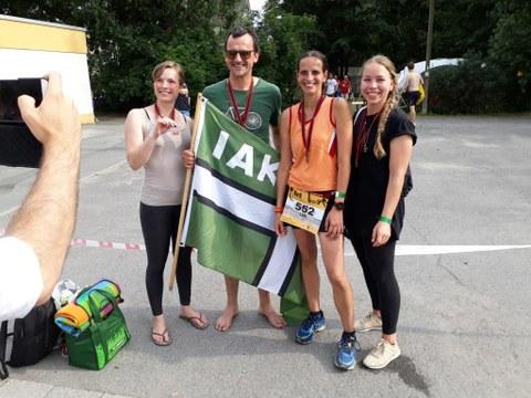 Team IAK Moritzburger Schlosstriathlon am 09.06.2018
