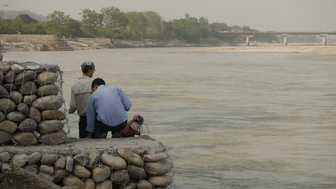 Fluß Ganges