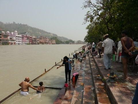 Ganges in Haridwar
