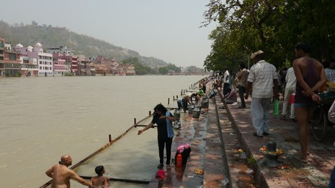 Ganges in Haridwar