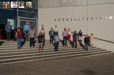 Das Bild zeigt das Gruppenfoto 2020