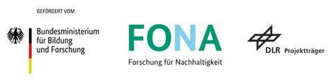 Logos BMBF FONA DLR