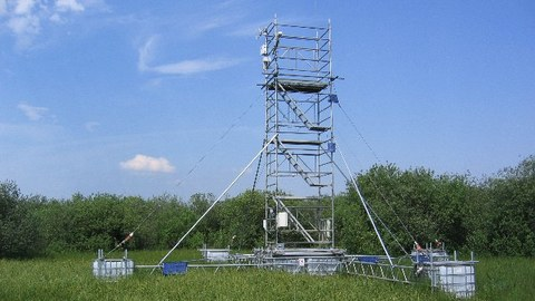 Messturm bei Anklam