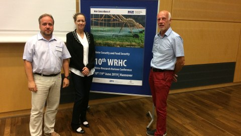 Catalin Stefan and co-organizers of the Open Space Workshop at WRHC 2019