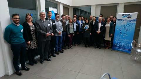Participants of the Water JPI Kick-off Meeting
