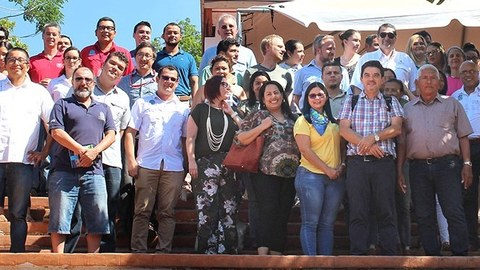Participants of workshops in Costa Rica