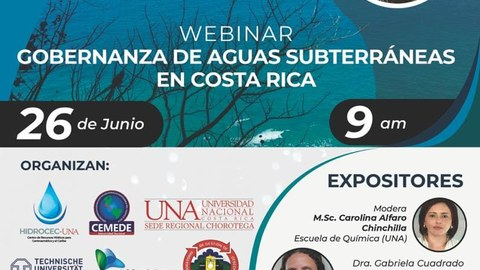 "Webinar ""Water Governance and Water Security in Costa Rica"""