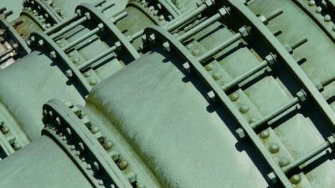 Flanschverbindung an Rohrleitungen