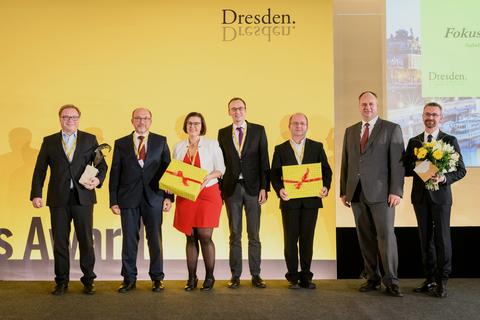 Auszeichnung für die Dresden Nexus Conference 2017