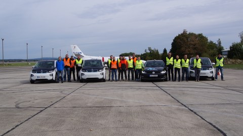 Flugplatz Bautzen Test Fahrfunktionen