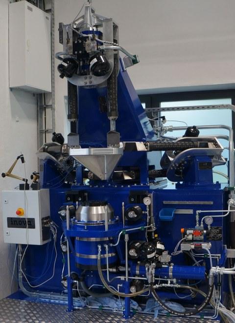 3-Achs-Elastomer Messmaschine
