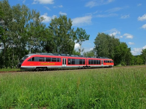 Eco-Train unterwegs im Erzgebirge