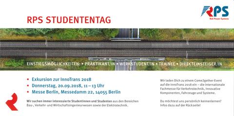 RPS Studententag Innotrans 2018