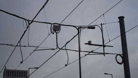 Fahrdraht-Monitoring in Berlin