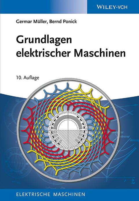 Cover Grundlagen Elektrischer Maschinen
