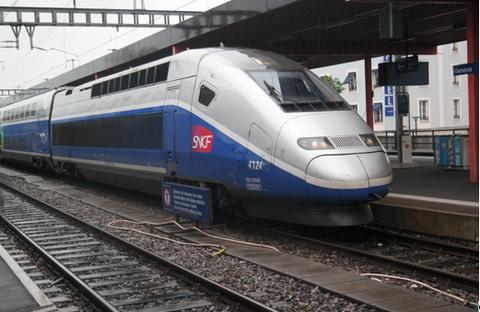 TGV in Genf