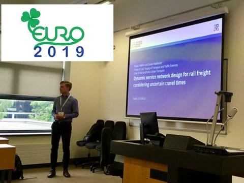 Herr Tobias Pollehn spricht auf der EURO 2019.