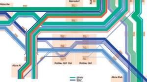 Strukturierte Analyse von Eisenbahnknoten - Teil Fahrtenanalyse