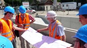 Baustellenexkursion VDE 9