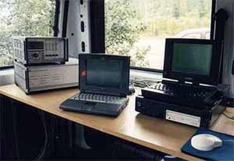 Messdatenerfassung mit Messverstärkern und Notebooks