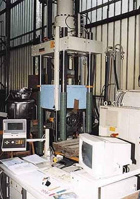 Versuchsstand im Otto-Mohr-Laboratorium (OML)