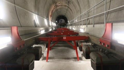 Versuchssollen des Lötschberg-Basistunnels
