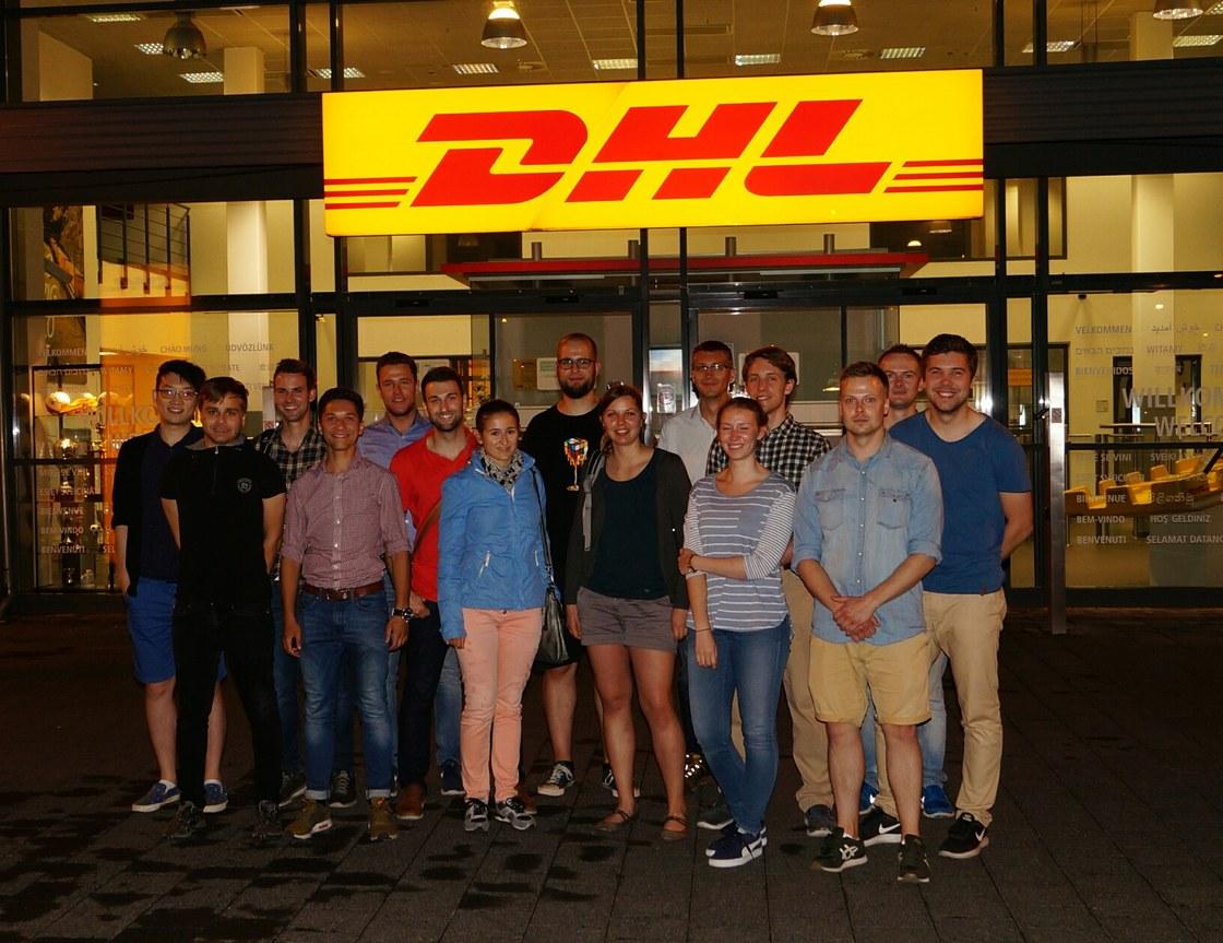 Exkursion Dhl Hub Leipzig Professur Für Technologie Und Logistik