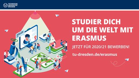 Bewerbungsphase ERASMUS für 2020/21