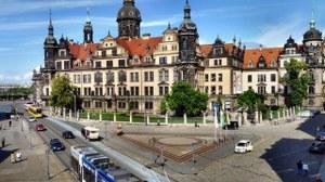 Sophienstraße vor dem Dresdner Schloss